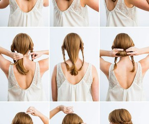 amazing, hairstyle, and diy hair image