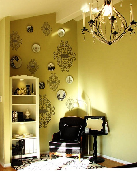 blik, chandelier, and damask image