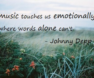 johnny depp, music, and quotes image