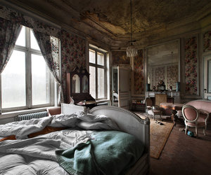 abandoned, aged, and apartments image