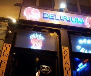 beer, delirium, and drunk image