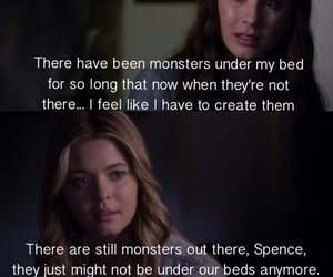 alison, spencer, and pretty little liars image
