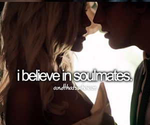 soulmates, love, and quotes image