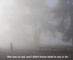 sad, quote, and dark image