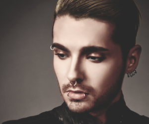 aliens, bill kaulitz, and Piercings image