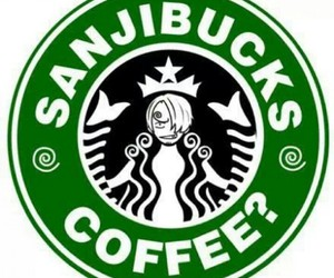japan, one piece, and starbucks image