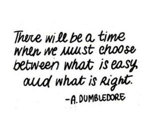 quote, harry potter, and dumbledore image