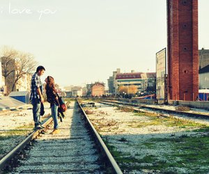 boy and girl, photography, and love image