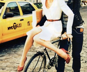 bike, nyc, and taxi image