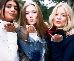 bff, delias, and fall image