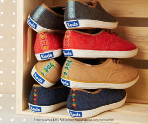 fall, keds, and shoes image