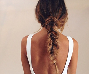 blonde, cute, and braid image
