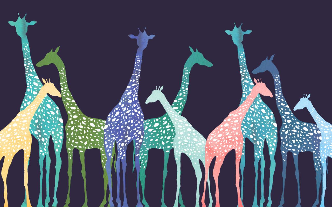 Best Wallpaper Colorful Giraffe - original  Image_469440 .jpg