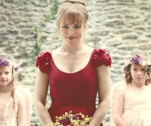 rachel mcadams, domhnall gleeson, and about time image
