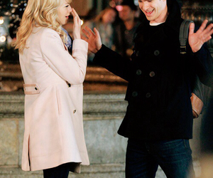 couple, emma stone, and andrew garfield image