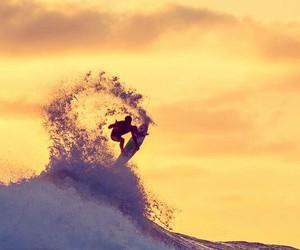 surf, surfer, and summer image