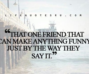 best friends, funny, and quote image