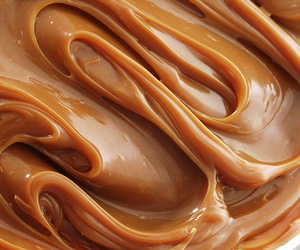 caramel, food, and yummy image