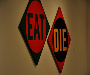 die and eat image
