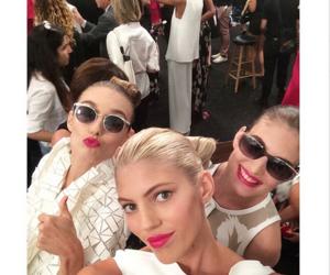 backstage, fashion, and selfie image
