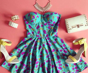 blue, cute, and dress image