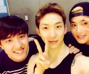 d.o, exo, and jo kwon image