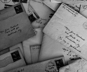old, love, and letters image