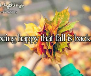 fall, autumn, and happy image