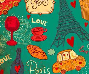 paris, wallpaper, and love image