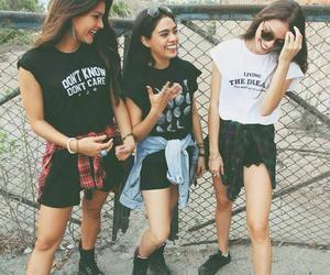 girl, friends, and hipster image