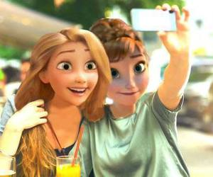 selfie, disney, and rapunzel image