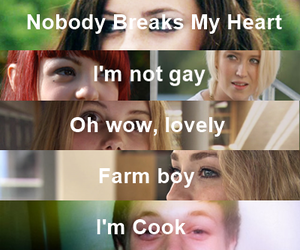 break, emily fitch, and Lily Loveless image