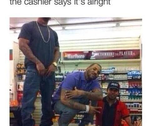 funny, cashier, and chips image