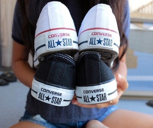 converse, tumblr, and shoes image