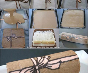 cake, diy, and bow image