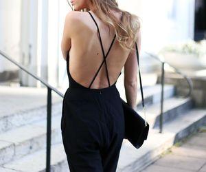 back, beautiful, and black image