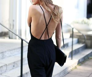back, beautiful, and black image