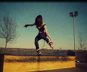 passion, rollerblade, and skate image