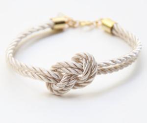 bracelet, rope, and style image
