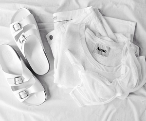 fashion, acne, and white image