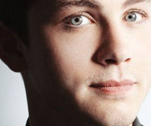 eyes, handsome, and loganlerman image