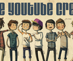 youtube, youtubers, and alfie image