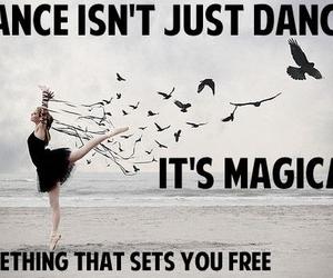 dance, magic, and free image