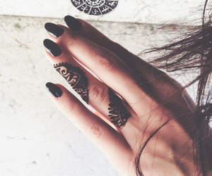 accessories, henna, and ink image