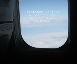 distance, test, and love image