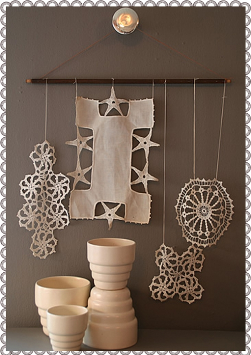 dainty, decor, and lace image