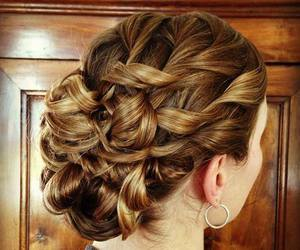 beautiful, hairstyle, and woman image
