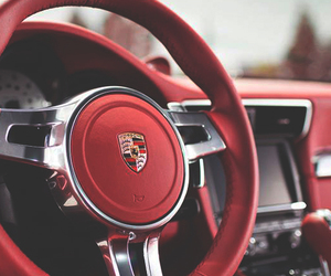porsche and red image