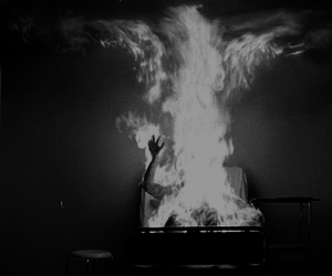fire, Let The Right One In, and burn image