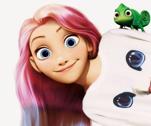 rapunzel, cool, and disney image